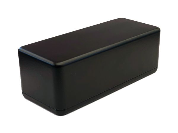1590A STYLE ALUMINIUM DIE CAST ENCLOSURE - BLACK