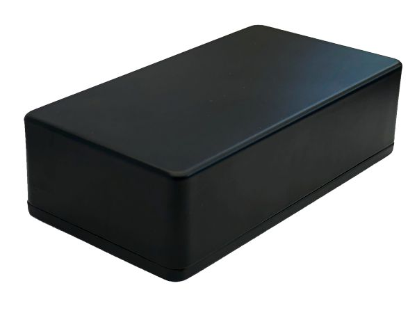 1590B STYLE ALUMINIUM DIE CAST ENCLOSURE - BLACK