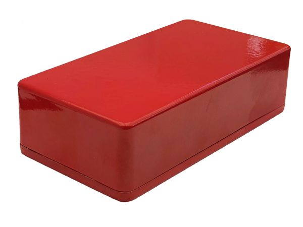 1590B STYLE ALUMINIUM DIE CAST ENCLOSURE - RED