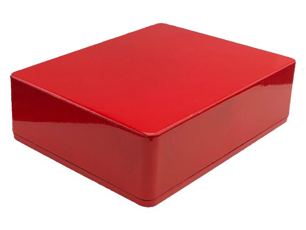 1590BB STYLE ALUMINIUM DIE CAST ENCLOSURE - RED