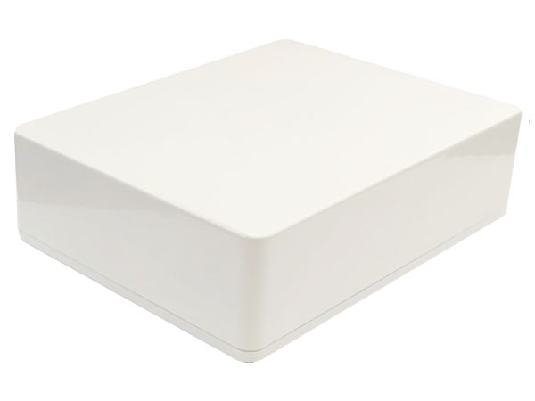 1590BB STYLE ALUMINIUM DIE CAST ENCLOSURE - WHITE