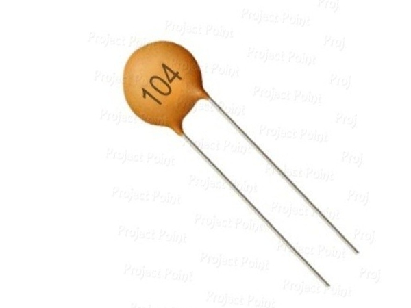 CERAMIC DISC CAPACITOR - 120pF