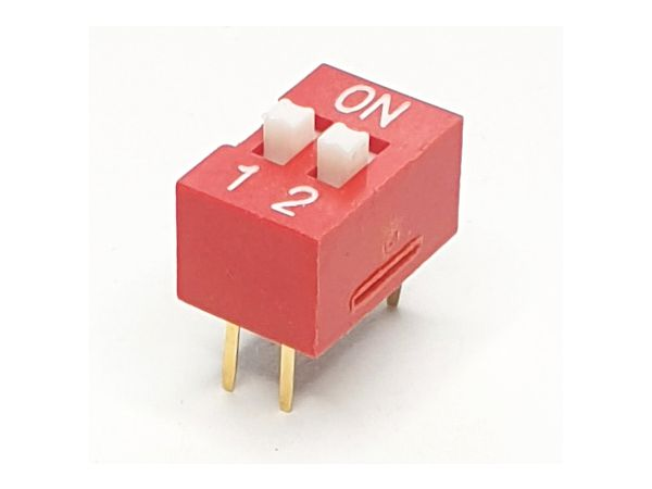 2 WAY DIP SWITCH