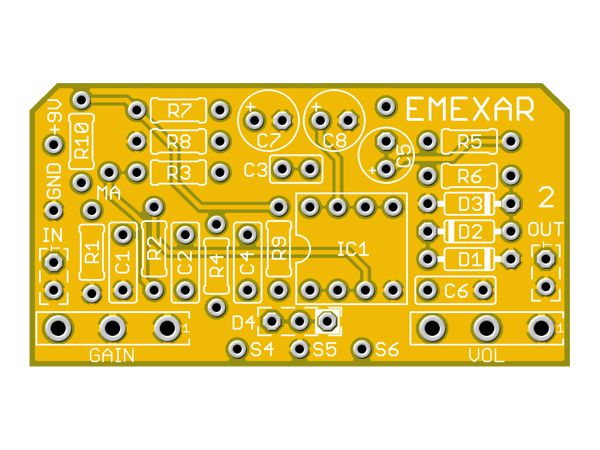 EMEXAR - 3 BUILDS IN ONE BOARD