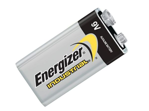 ENERGIZER 9V ALKALINE INDUSTRIAL BATTERY