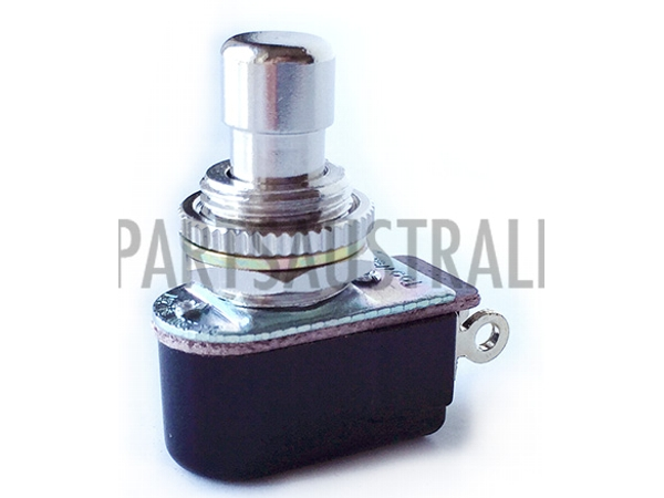 SPST MOMENTARY FOOT SWITCH SHORT SHAFT - NO