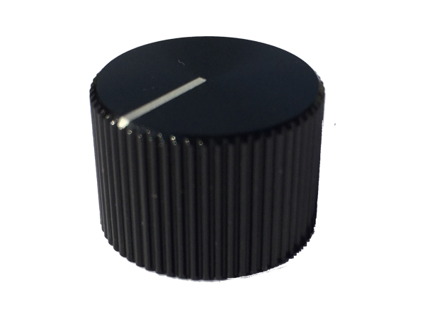 ZINC ALLOY KNOB - BLACK