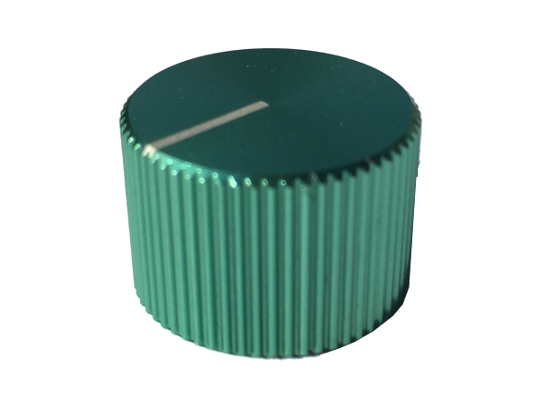 ZINC ALLOY KNOB - GREEN