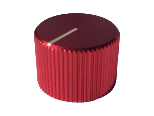 ZINC ALLOY KNOB - RED