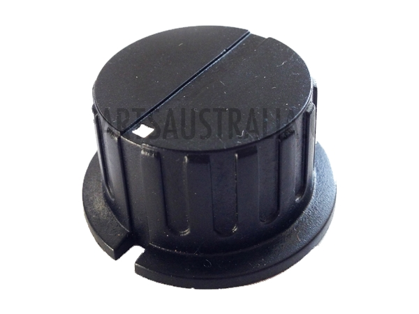 FLUTED KNOB 35MM - BLACK