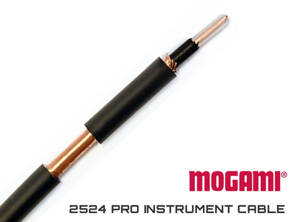 MOGAMI 2524 PRO INSTRUMENT CABLE - OD 6MM