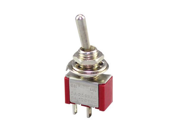 SPST MINIATURE TOGGLE SWITCH