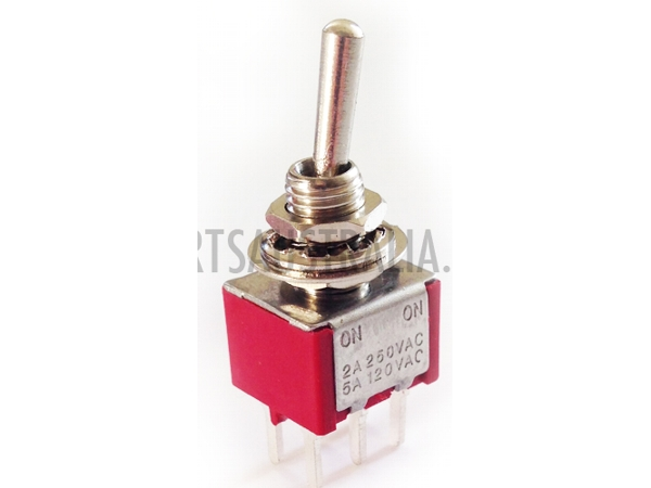 DPDT MINIATURE TOGGLE SWITCH - PCB