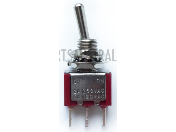 SPDT MINIATURE TOGGLE SWITCH - PCB