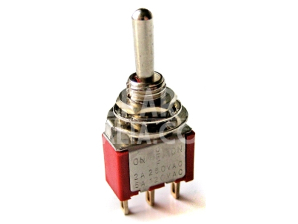 SPDT MINIATURE TOGGLE SWITCH