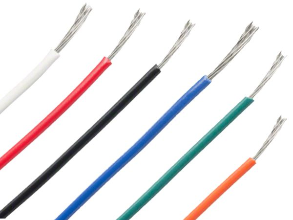 24 AWG HOOKUP WIRE - 6 x 2M PACK