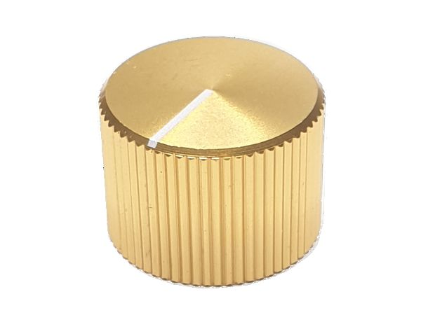 ZINC ALLOY KNOB - GOLD